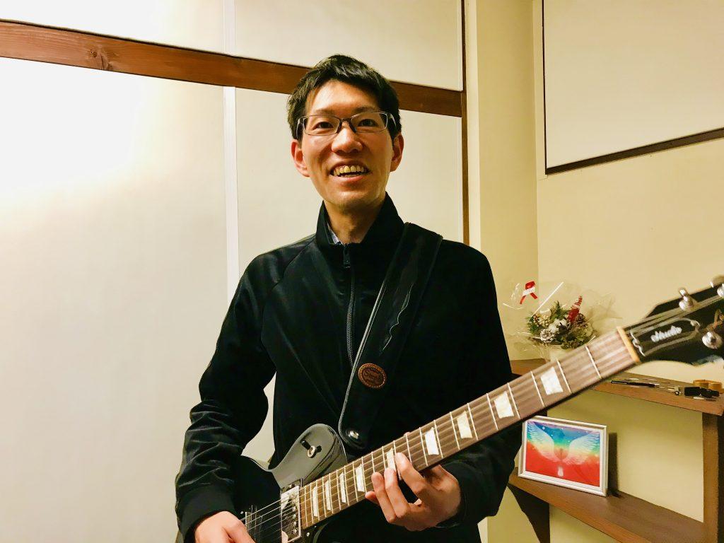 金井順基さん30代男性(エレキ、ボイトレ)